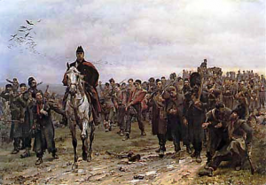 20th Regiment return from Inkerman