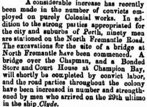 Clyde Gazette 12 Jun 1863