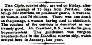 Clye Inquirer 3 Jun 1863