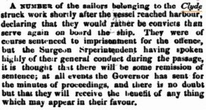 Clyde Sailors Inquirer 10 Jun 1863