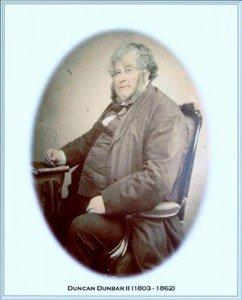 Duncan Dunbar 1803-1862