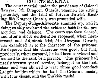 Freemans Journal 25 Aug 1866