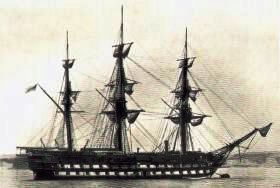HMS London before 1884