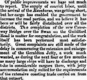 Racehorse Perth Gazette West Australian Times 25 Aug 1865