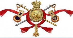 31st Regiment Badge