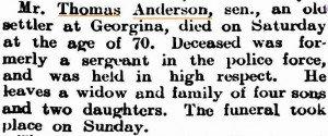 Anderson Thomas Death Notice [Geraldton Guardian 9 Jul 1907]