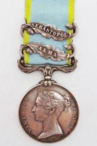 Crimea Medal Alma-Sevastopol clasp