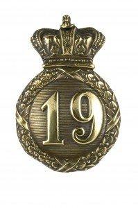 19th Regiment Cap Badge