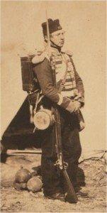 19th Regiment Private Crimean War [Roger Fenton]
