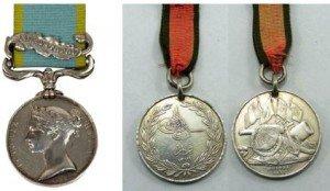 Crimea War & Turkish Crimea Medals