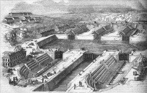 Dry Docks Sevastopol 1855