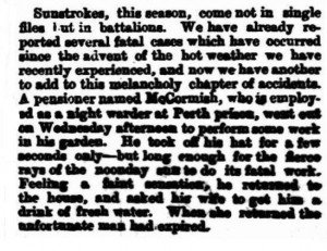 McCormick William Death [West Australian 9 Jan 1880]