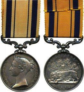 South Africa (Kaffir Wars) Medal