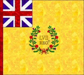 57th Regiment Colours