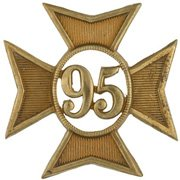 95th Regiment Badge