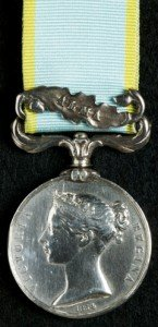 Geddings George British Crimea Medal (Alma Clasp)