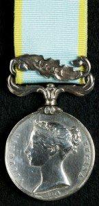 Geddings George British Crimea Medal (Alma Clasp)