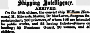 William Hammond [Inquirer 2 Apr 1856]