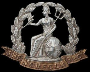 9th Regiment Cap Badge c. 1896