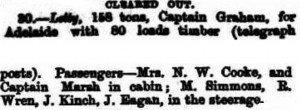 Eagan J Letty [Perth Gazette 31 Aug 1866]
