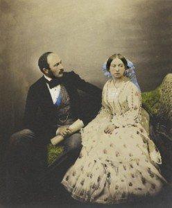 Prince Albert & Queen Victoria 1854