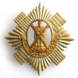 1st (Royal Scots) Cap Badge