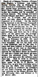 Hughes Funeral West Aus 29 Jan 1924