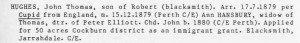 Hughes John Thomas WABD p.1564