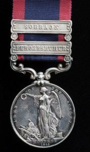 Sutlej Medal Moodkee clasps Ferozeshuhur & Sobraon