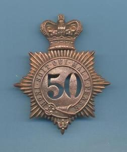 50th Regiment Badge