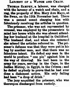 Sampey in Court [West Aus 1 Apr  1887]