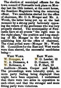 Donegan W Councillor [Western Australian Times 30 Nov 1877]