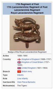 17th Regiment Wikipedia