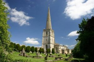St Mary's Church Painswick Gloucestershire