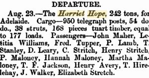 Leary Harriet Hope