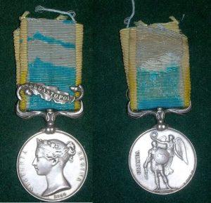 Mack Crimean Medal