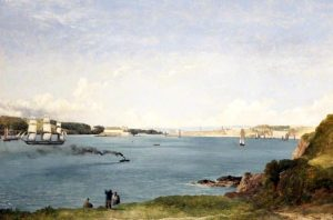 Plymouth from Mount Batten [Frederick Richard Lee]