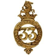 33rd-Reg-Glengarry-Badge
