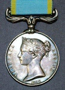 British Crimea Medal Obverse