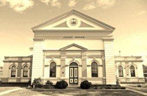 Burrowa Court House 1884