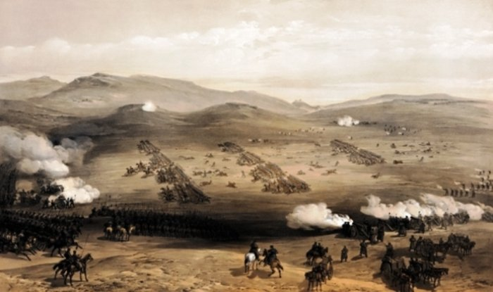 Charge of the Light Brigade by William Simpson