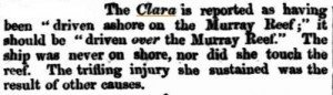 Clara-Arrival-Correction-Inquirer-15-Jul-1857