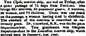 Clye Inquirer 3 Jun 1863
