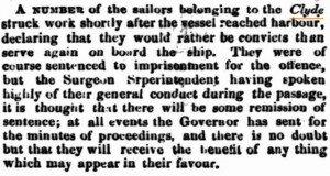Clyde Sailors Inquirer 10 Jun 1863