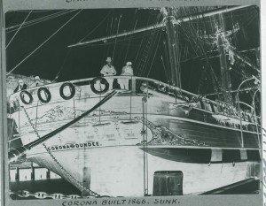 Corona 1866 - Sunk
