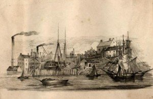 Laing-Deptford Dockyard 1840s