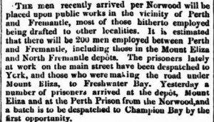 Norwood Inquirer 18 Jun 1862 Public Works