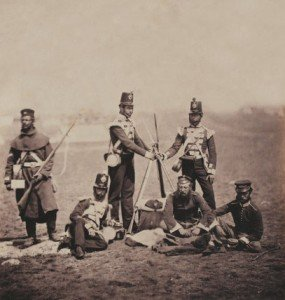 Officers-Men-3rd-East-Kent-1855