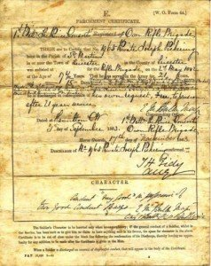 Parchment-Certificate-of-Discharge