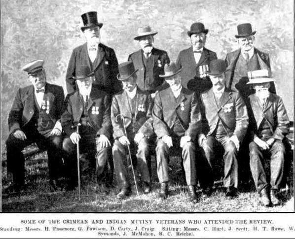 Passmore Veterans (Western Mail 27 Nov 1909)